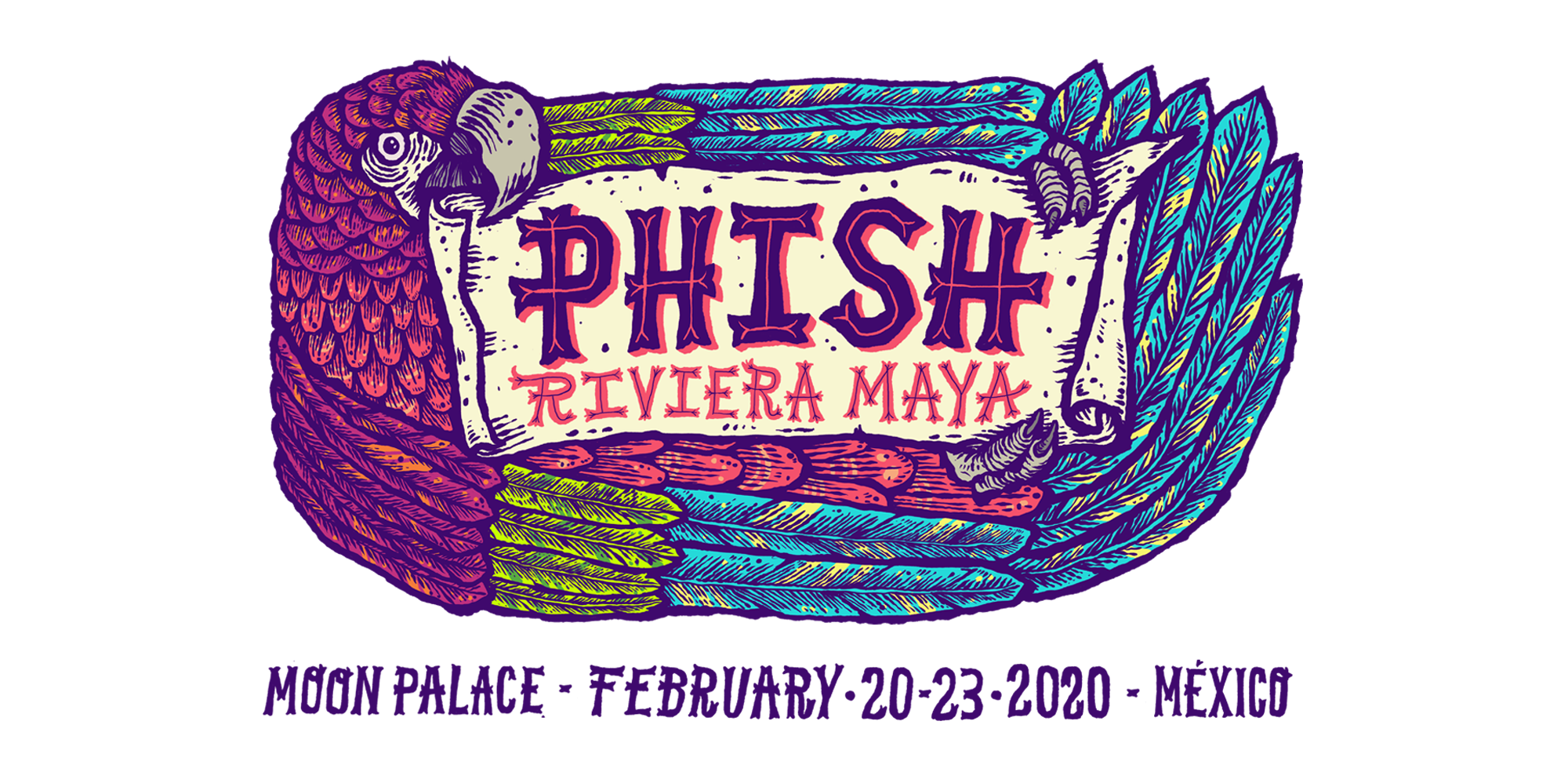 Phish Tour Dates 2020 Phish Riviera Maya 2020